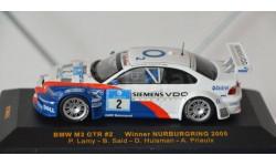 1:43 BMW 3-series M3 GTR E46 - BMW MOTORSPORT, масштабная модель, 1/43, IXO Rally (серии RAC, RAM)