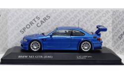1:43 BMW 3-series M3 GTR E46 - Эксклюзивная серия