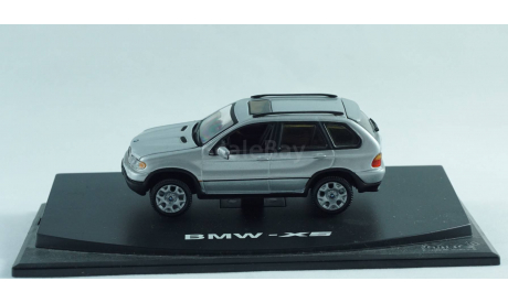 1:43 BMW X5 E53 - капот открывается! Люк на крыше!, масштабная модель, 1/43