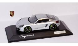 1:43 PORSCHE Cayman E эксклюзивная серия - SPARK!!!, масштабная модель, scale43