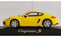 1:43 PORSCHE Cayman S - Minichamps, масштабная модель, 1/43
