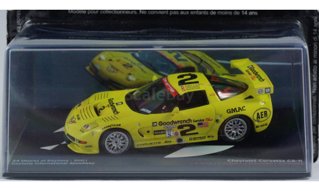 1:43 Chevrolet Corvette C5 - R 24H Daytona - 2001 год, масштабная модель, Altaya Le Mans Collection, 1/43