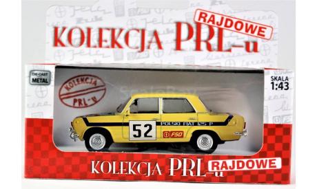 1:43 FIAT 125 Ралли, масштабная модель, Kolekcja PRL, 1/43