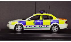 1:43 JAGUAR X-Type Police ЯГУАР Полиция Великобритании - Лимитированная серия!