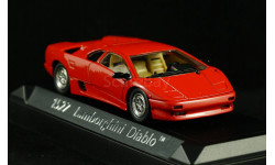 Lamborghini Diablo red красный 1:43 - Капот открывается!