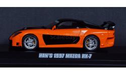 1:43 MAZDA RX-7 Форсаж 3 Токийский Дрифт - Fast&Furious 3 Tokyo drift