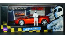 1:43 McLaren MP4-12C Top Gear - Minichamps с фигуркой гонщика - диорама