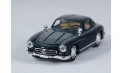 1:43 Mercedes-Benz 300 SL 1954 год 'Крыло чайки' Gullwing - капот и дверь открываются!, масштабная модель, Solido, 1/43