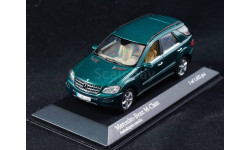 Mercedes Benz M-klasse ML W164 1:43 Minichamps Мерседес dark green темно зеленый