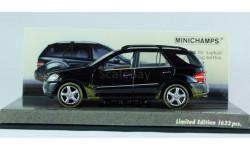 1:43 Mercedes Benz ML - MINICHAMPS РАРИТЕТ Эксклюзивный лимитированный выпуск!