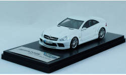 Mercedes Benz SL 65 AMG Black Series V12 Bi Turbo - Absolute Hot! Schuco 1:43 - Супер оформление модели!