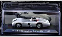 Mercedes W196 Streamlined W 196 Racing 1955 год 1:43, масштабная модель, Mercedes-Benz, Mercedes Benz, 1/43