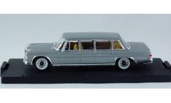 1:43 Mercedes W100 600 Pullman Limousine 1965 год, масштабная модель, Mercedes-Benz, Vitesse, 1/43