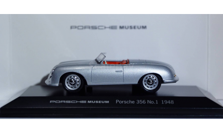 1:43 PORSCHE 356 номер 1 - 1948 год - Porsche Museum, масштабная модель, 1/43