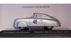 1:43 PORSCHE 356 SL Le Mans 1951 - Porsche Museum, масштабная модель, 1/43