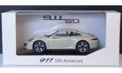 1:43 PORSCHE 911 50th Anniversary - специальный выпуск в честь 50 летия Порше 911, масштабная модель, 1/43, Porsche Museum