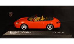 1:43 PORSCHE 911 (996) Carrera 4 Cabrio - Minichamps