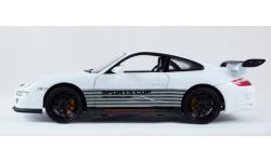 PORSCHE 911 997 GT3 RS Deutchland PORSCHE CUP - 1:18 - все открывается, руль поворачивает колеса!, масштабная модель, Welly, 1/18