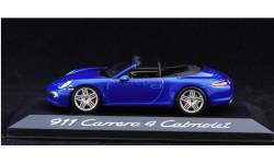 1:43 PORSCHE 911 Carrera 4 Cabriolet