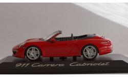 1:43 PORSCHE 911 (991) Carrera Cabriolet - Minichamps!
