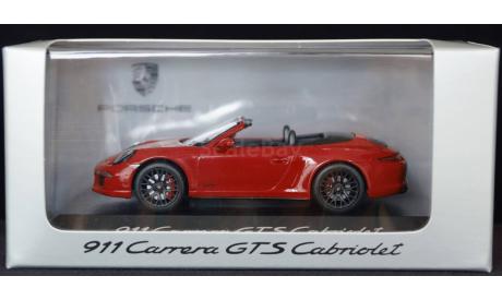 1:43 PORSCHE 911 Carrera GTS Cabriolet, масштабная модель, 1/43, Schuco