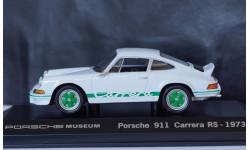 1:43 PORSCHE 911 Carrera RS 2.7 - 1973 год, масштабная модель, 1/43, Porsche Museum