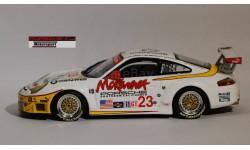 1:43 PORSCHE 911 (996) GT3 RSR 2004 год - Winner Race - Minichamps