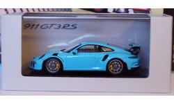 1:43 PORSCHE 911 GT 3 RS 2017 год Exclusive Limited Edition