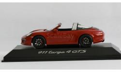 1:43 PORSCHE 911 (991) Targa 4 GTS - Minichamps