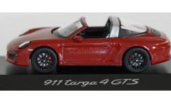 1:43 PORSCHE 911 (991) Targa GTS - Minichamps