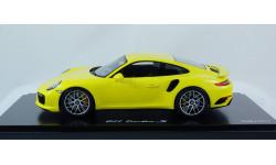 PORSCHE 911 Turbo S Minichamps Лимитированная Серия! 1:18 Стеклянный Бокс в комплекте!!!