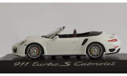 1:43 PORSCHE 911 (991) Turbo S Cabriolet Minichamps
