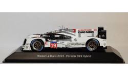 1:43 PORSCHE 919 Hybrid Le Mans 2015 Winner