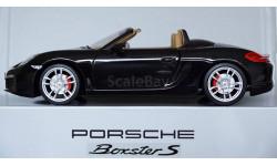 1:18 PORSCHE Boxster S Minichamps - все открывается, руль поворачивает колеса