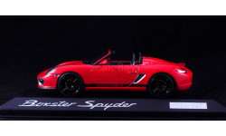 1:43 PORSCHE Boxster Spyder Лимитированная серия - MINICHAMPS в дилерской упаковке Porsche