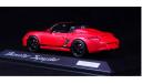 1:43 PORSCHE Boxster Spyder Лимитированная серия - MINICHAMPS в дилерской упаковке Porsche, масштабная модель, 1/43