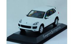 1:43 PORSCHE Cayenne S 2017 года!!! - Minichamps в дилерской упаковке Porsche