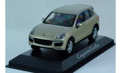 1:43 PORSCHE Cayenne 2017 года!!! Turbo - Minichamps в дилерской упаковке Porsche