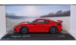 1:43 PORSCHE Cayman GT4 - лимитированная малая серия, масштабная модель, scale43, Spark