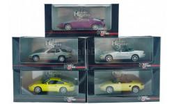 1:43 PORSCHE 924 Turbo, 928, 968 Cabrio, Boxster, 996 Carrera