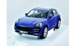 PORSCHE MACAN Turbo Minichamps 1:18 - все открывается!