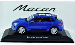1:43 PORSCHE Macan Turbo, масштабная модель, Porsche Museum, 1/43