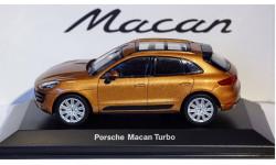1:43 PORSCHE MACAN TURBO, масштабная модель, 1/43, Porsche Museum