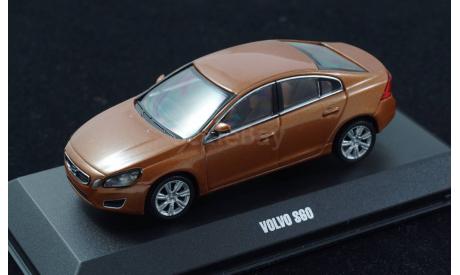 VOLVO S60 II sedan MotorArt 1:43 Golden Bronze metallic, масштабная модель, 1/43