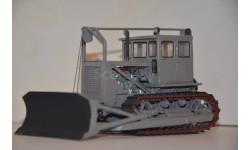 Т-100, масштабная модель трактора, Миниград, scale43
