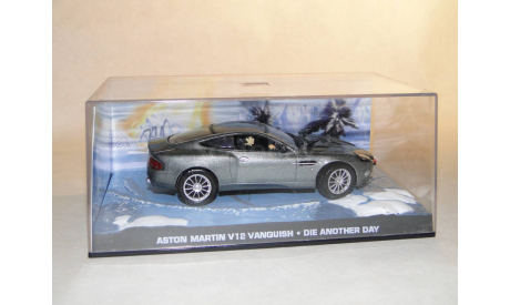 Aston Martin V12 Vanquish - Die Another Day, масштабная модель, Universal Hobbies, scale43