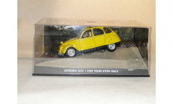 Citroen 2CV - For Your Eyes Only, масштабная модель, Universal Hobbies, Citroën, scale43
