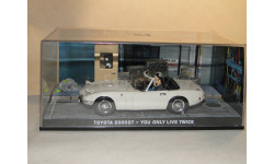 Toyota 2000 GT - You Only Live Twice, масштабная модель, 1:43, 1/43, Universal Hobbies