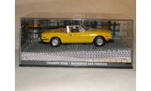 Triumph Stag - Diamonds Are Forever, масштабная модель, Universal Hobbies, scale43