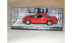 Ford Thunderbird - Die Another Day, масштабная модель, Universal Hobbies, scale43